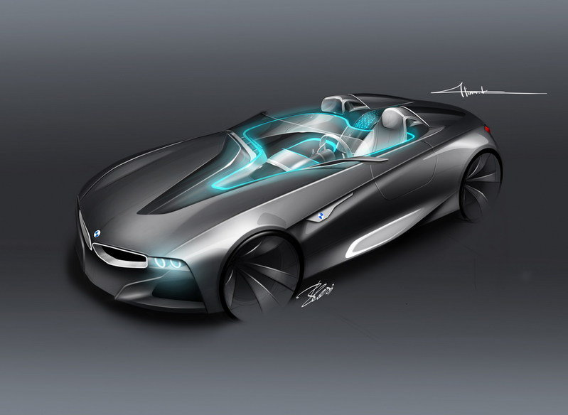 2011 BMW Vision ConnectedDrive Concept Exterior Computer Renderings and Photoshop - image 392157