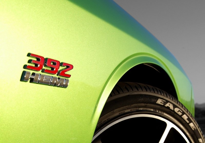 2011 Dodge Challenger SRT8 392 Green With Envy High Resolution Exterior - image 391879