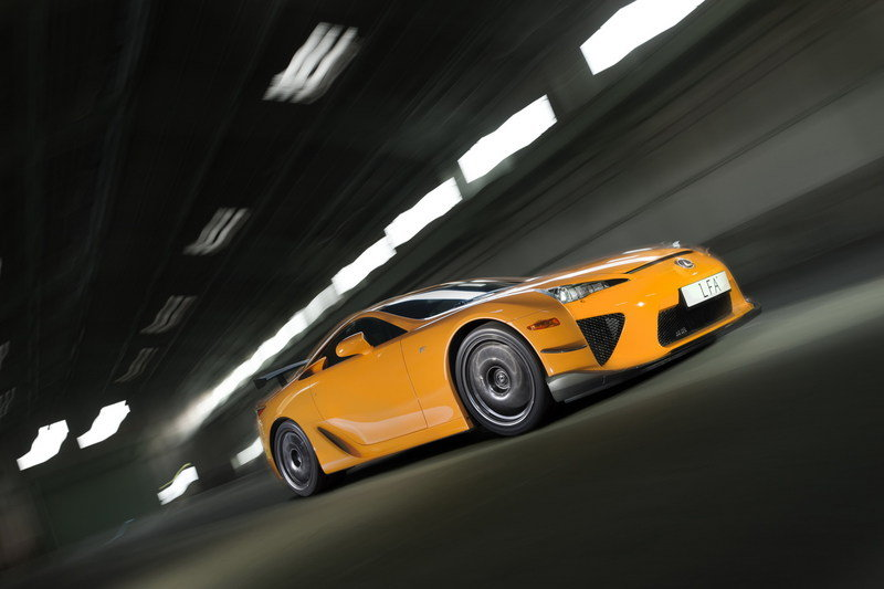 Wallpaper of the Day: 2012 Lexus LF A Nurburgring Package