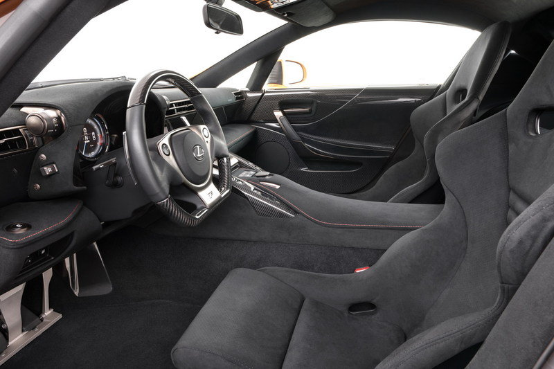 2012 Lexus LF-A Nurburgring Package High Resolution Interior - image 393553