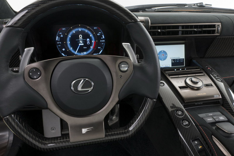 2012 Lexus LF-A Nurburgring Package High Resolution Interior - image 393555