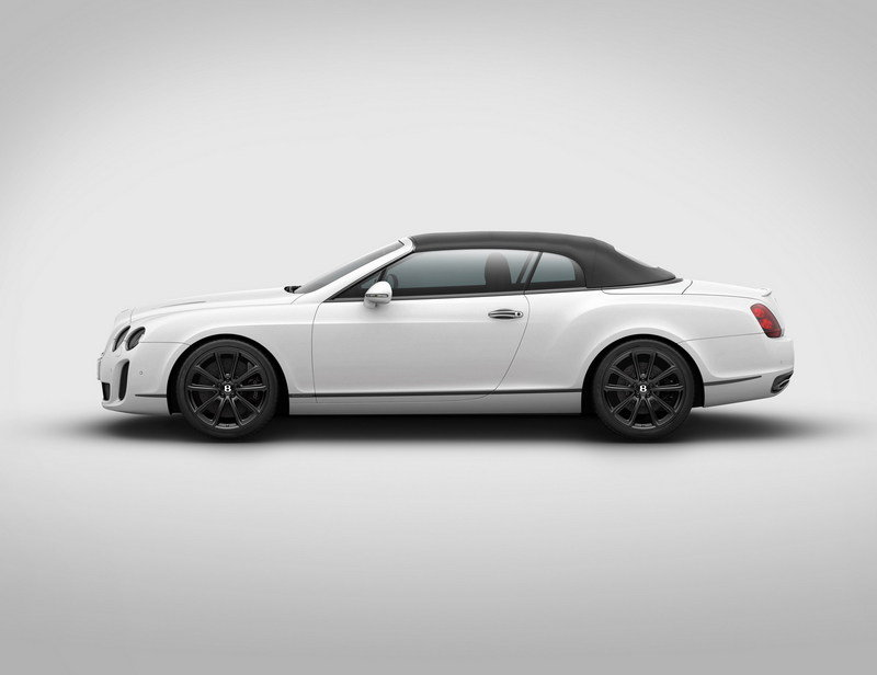 2012 Bentley Supersports Ice Speed Record Convertible High Resolution Exterior - image 394137