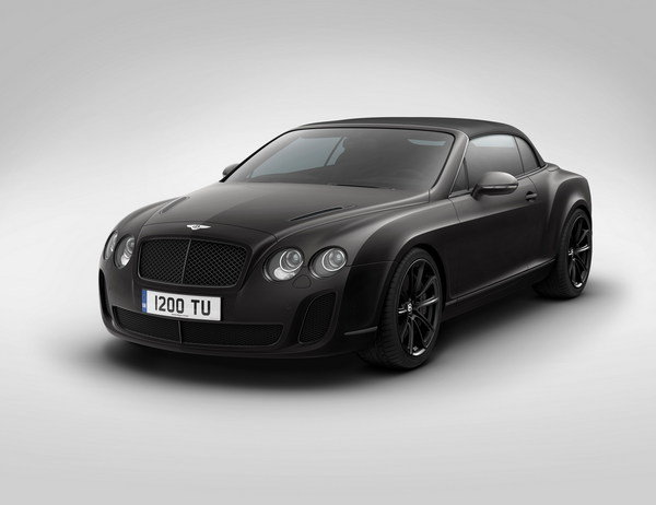 bentley supersports ice speed record convertible picture