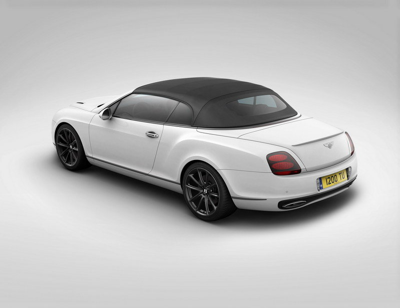 2012 Bentley Supersports Ice Speed Record Convertible High Resolution Exterior - image 394135