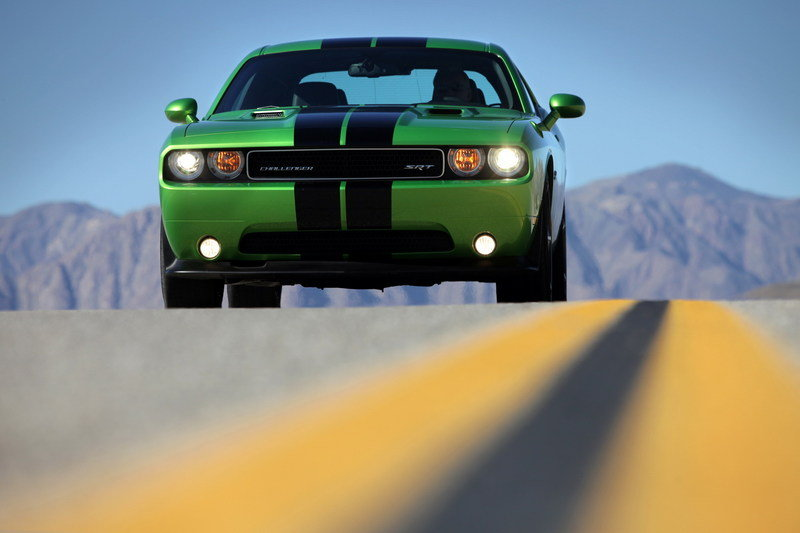2011 Dodge Challenger SRT8 392 Green With Envy High Resolution Exterior - image 391821
