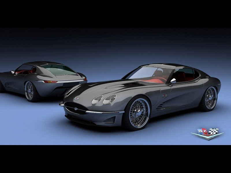 Growler E 2011 by Vizualtech honors Jaguar's E-Type