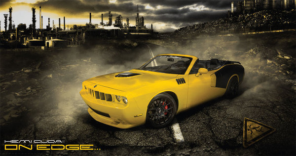 hemi cuda by droptop customs picture