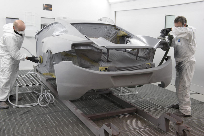 McLaren finally starts production of MP4-12C supercar