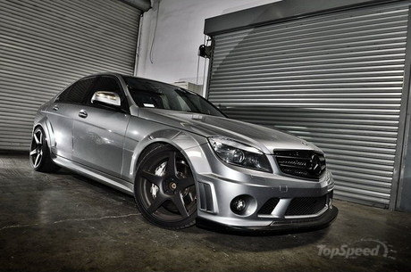Mercedes c63 amg by tecnocraft news tuning directory for Mercedes benz car care kit