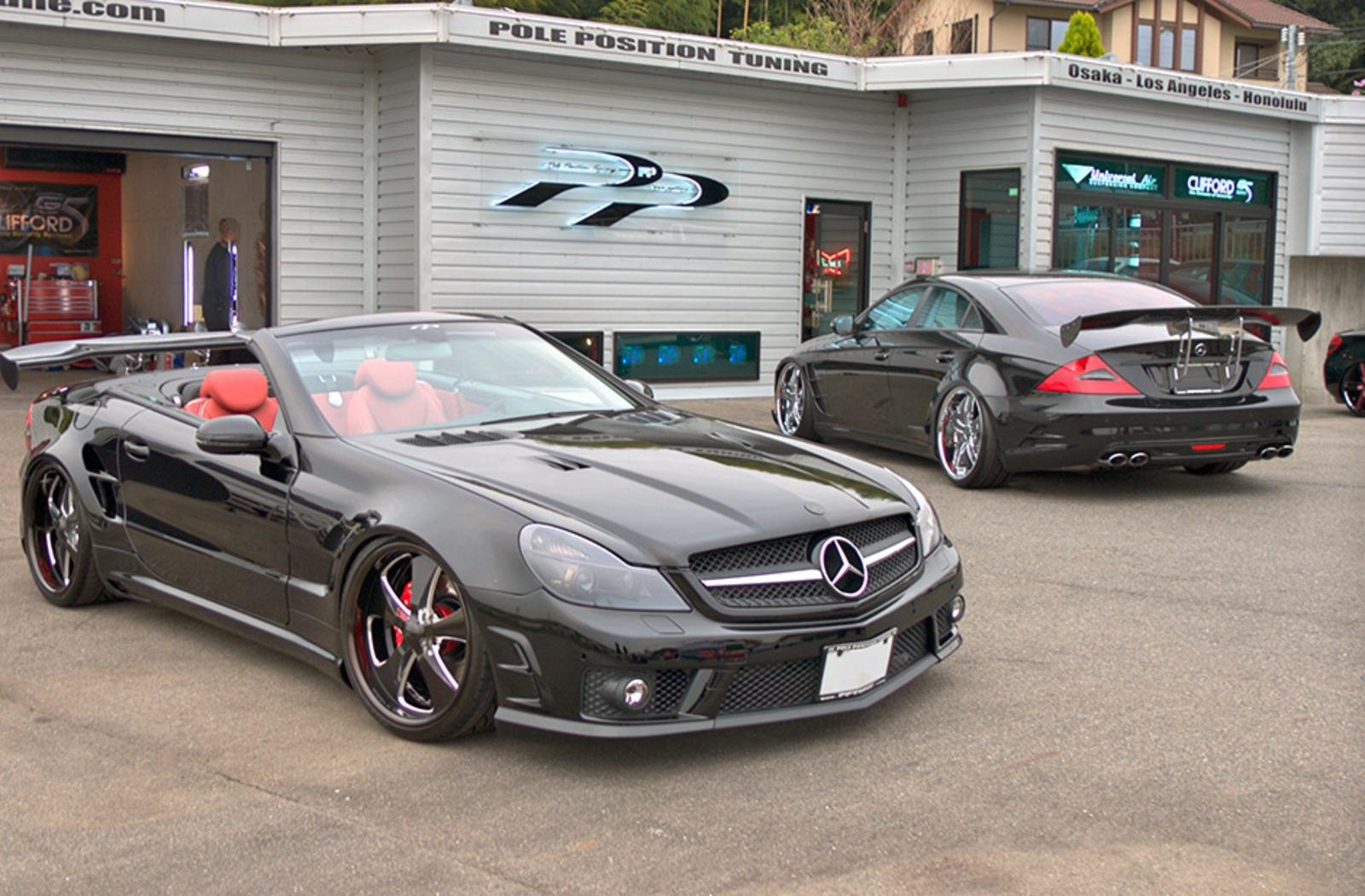 Superior 2011 Mercedes CLS 55 AMG And SL 65 AMG By Pole Position Tuning