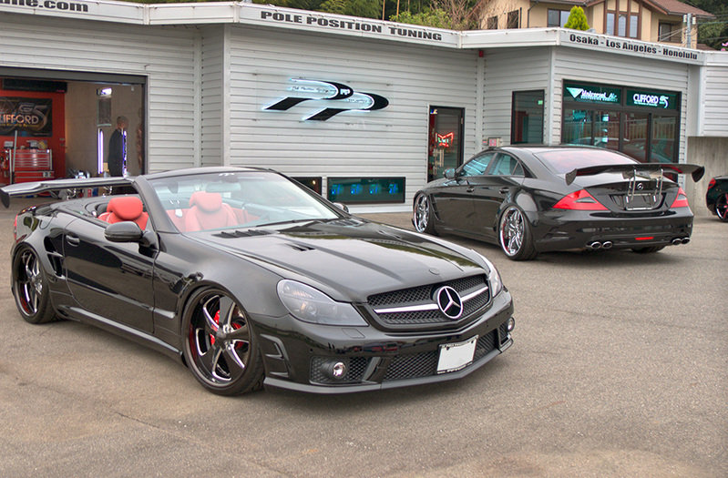 2011 Mercedes CLS 55 AMG and SL 65 AMG by Pole Position Tuning