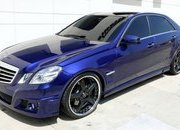 "Mercedes E550 ""Transformers 3 Exclusive"" by CEC Wheels"