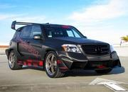 Mercedes GLK350 Hybrid Pikes Peak Rally Car by Renntech