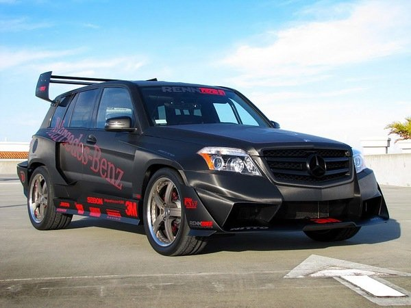 mercedes glk350 hybrid pikes peak rally car by renntech picture