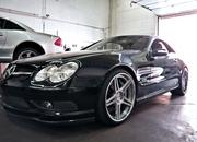 Speedriven works hard to break records with their CNG Mercedes SL600 - image 393699