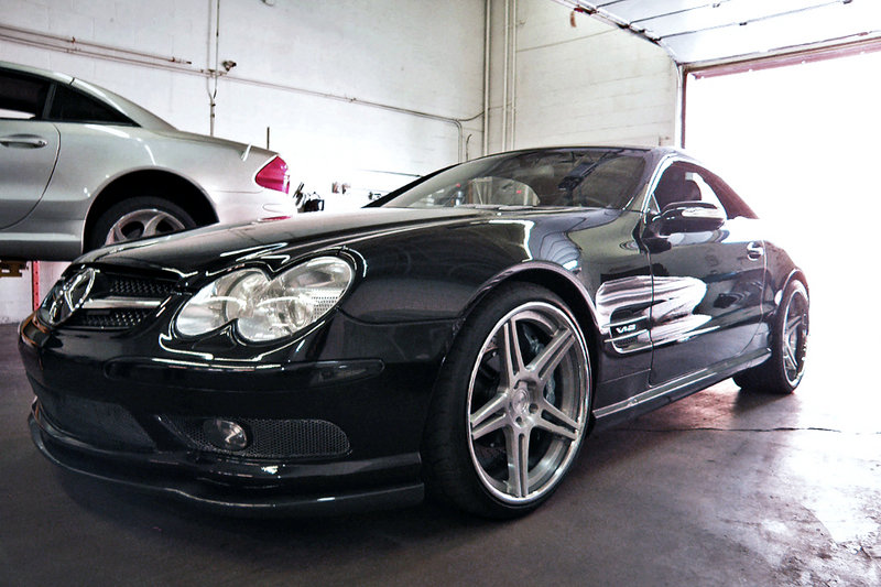 Speedriven works hard to break records with their CNG Mercedes SL600 Exterior - image 393699