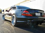 Speedriven works hard to break records with their CNG Mercedes SL600 - image 393700
