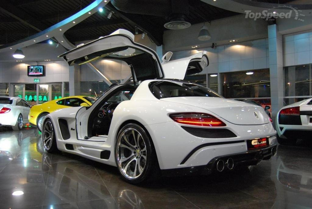 2011 fab design mercedes sls 63 amg dark cars wallpapers. Black Bedroom Furniture Sets. Home Design Ideas