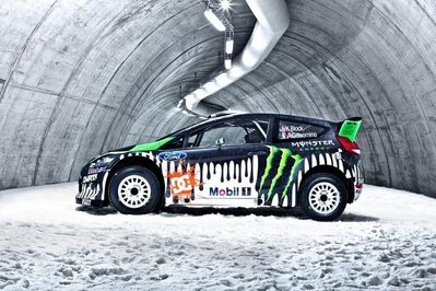 2011 Monster World Rally Team Ford Fiesta RS WRC Exterior - image 391732