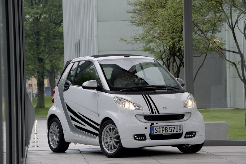 2011 Smart Fortwo customization program