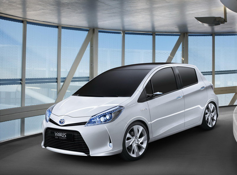 2011 toyota yaris hsd concept review top speed. Black Bedroom Furniture Sets. Home Design Ideas