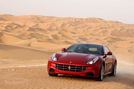 2012 Ferrari Ff. 2012 Ferrari FF - Top Speed