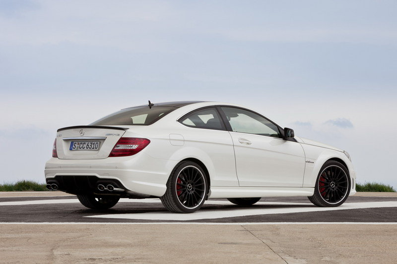 2013 Mercedes C63 AMG Coupe High Resolution Exterior - image 396784