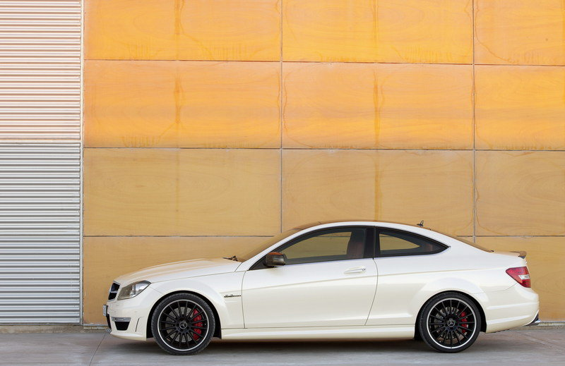 2013 Mercedes C63 AMG Coupe High Resolution Exterior - image 396789