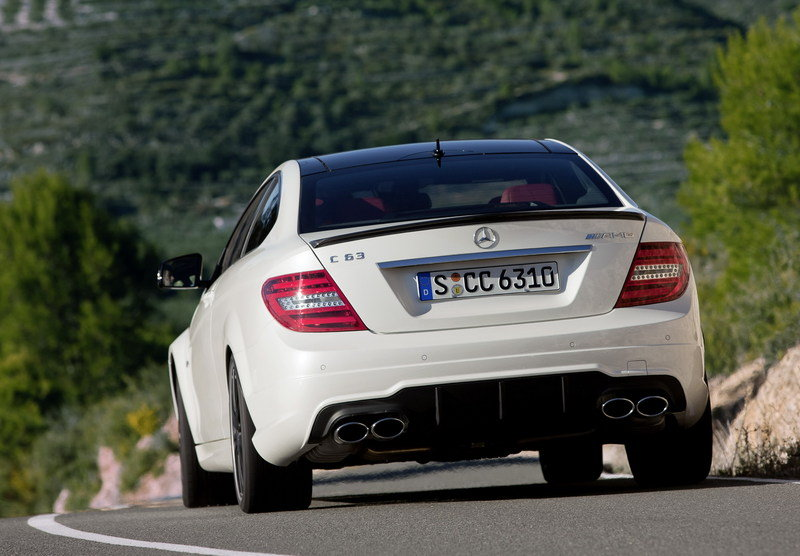 2013 Mercedes C63 AMG Coupe High Resolution Exterior - image 396791