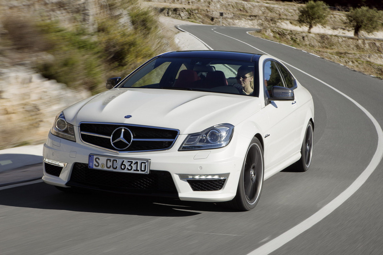 2013 mercedes c63 amg coupe review top speed sciox Gallery