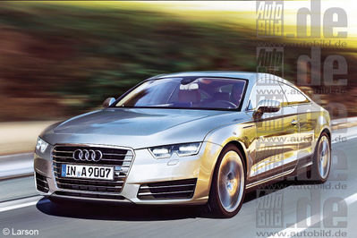 Audi A9 will first be offered as a coupe and cabrio