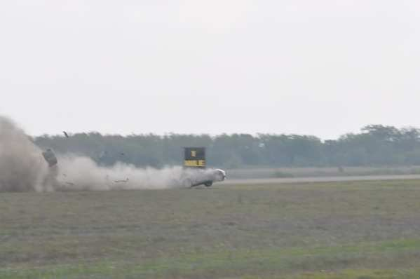 corvette z06 crashes going 230mph at 2011 texas mile picture