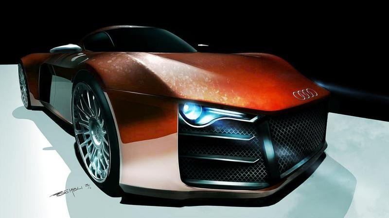 Swedish designer updates his rendering of the Audi R10 supercar
