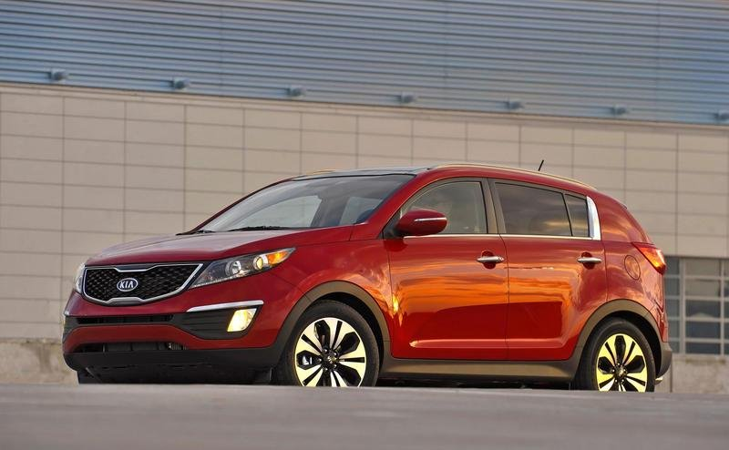 2011 Kia Sportage SX Turbo High Resolution Exterior - image 395146