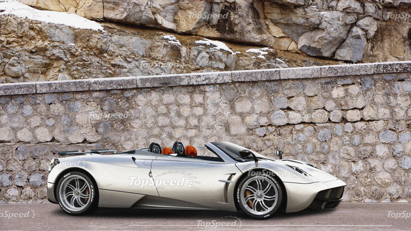 Pagani Huayra Roadster will be Unveiled in the Next 24 Months