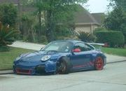 Porsche 911 GT3 RS owner attempts to drive home after crash - image 397661