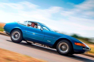 Ferrari 365 GTB/4 driven by Prince Charles on auction