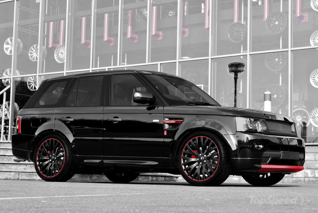 2011 projet khan range rover sport diablo dark cars wallpapers. Black Bedroom Furniture Sets. Home Design Ideas