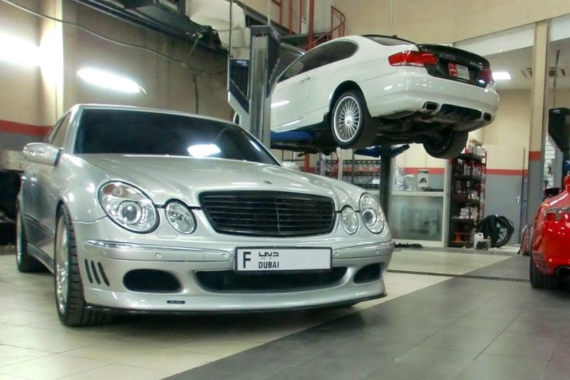 2011 Mercedes E-Class V12 by Speedriven