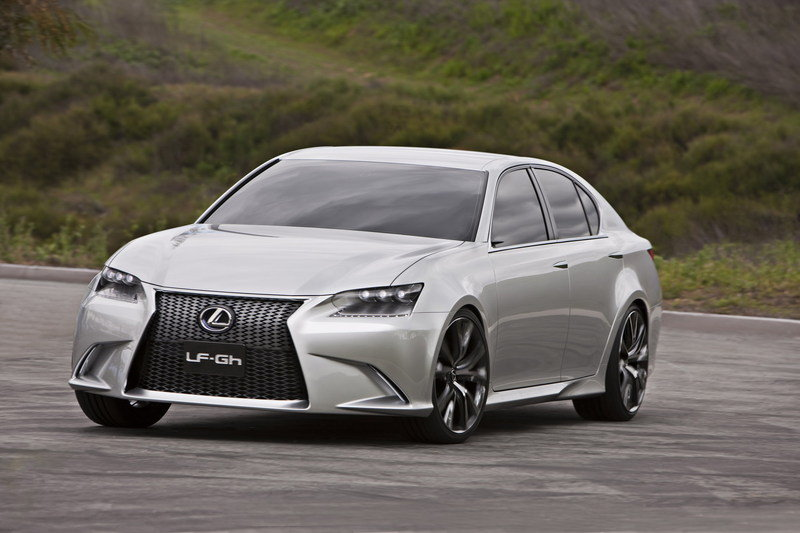 2011 Lexus LF-Gh Concept High Resolution Exterior - image 398759