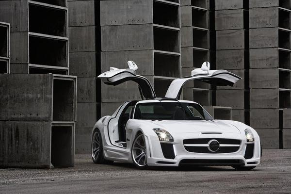 mercedes sls amg gullstream by fab design picture