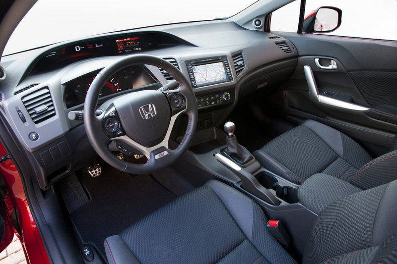2012 Honda Civic SI High Resolution Interior - image 399635