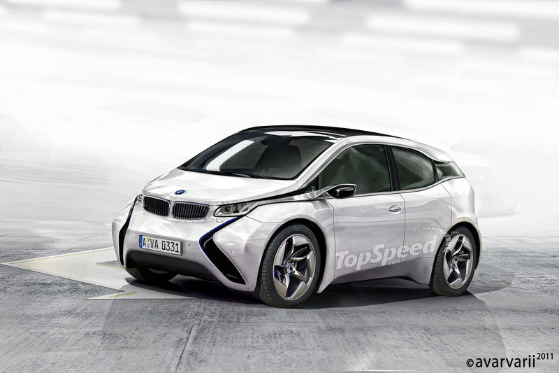 2015 BMW i3 Exterior Computer Renderings and Photoshop - image 399198