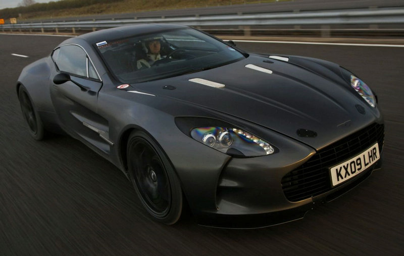 Aston Martin dwindles down to 10 units of the One-77; Are test drives an option?