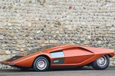 Bertone to auction off concept car collection at Villa d'Este