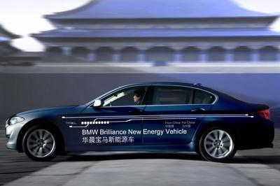 2013 BMW 5-Series Plug-in Hybrid Sedan Concept - image 398357