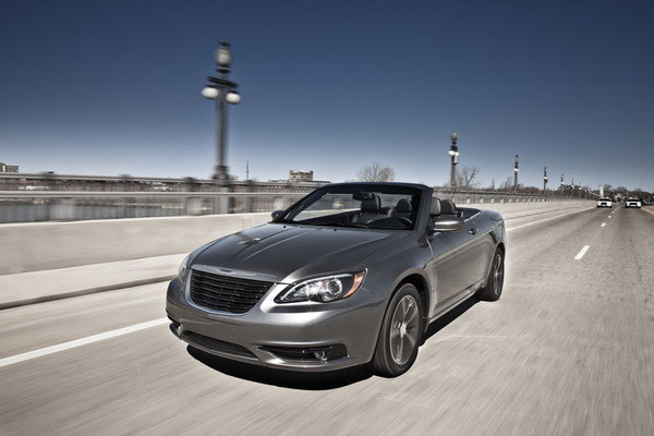 chrysler 200 s convertible picture