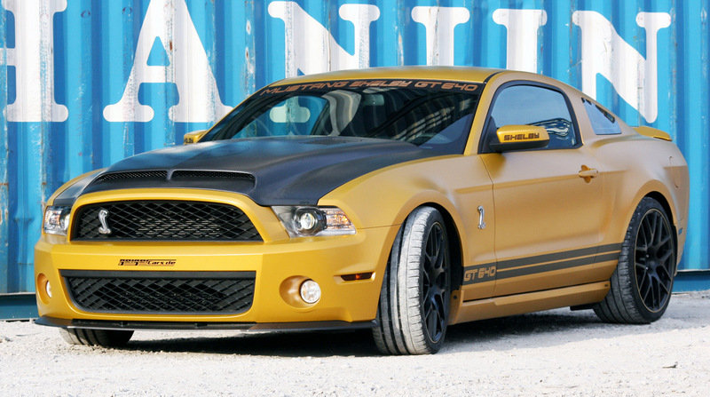 "2011 Ford Mustang Shelby GT640 ""Golden Snake"""