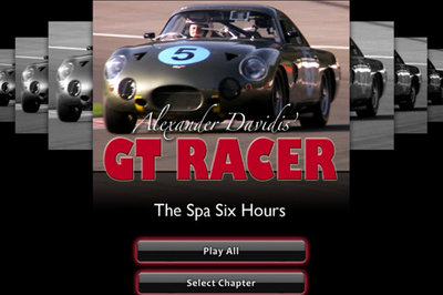 "GT Racer apps take you back to the ""Golden Age of Auto Racing"""