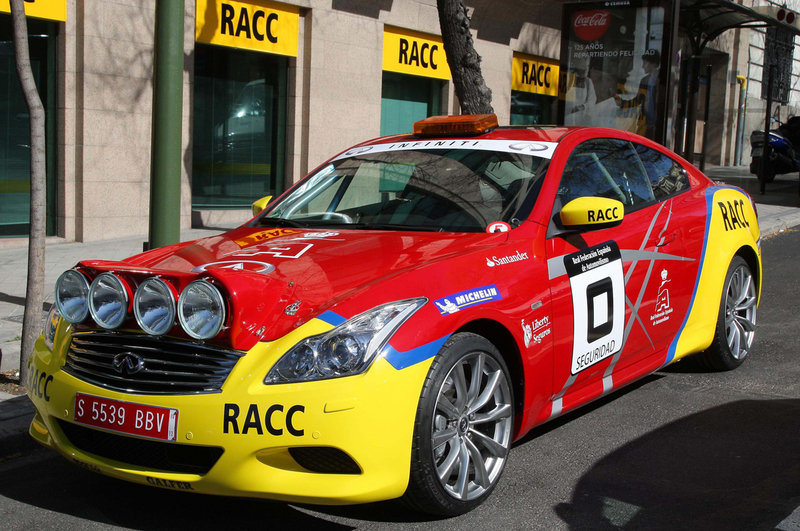 2011 Infiniti G37 S Coupe Rally Safety Car